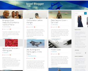 Israel Blogger Newsletter