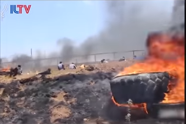 Burning Tire