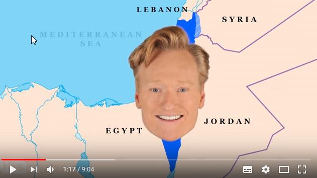 Conan in Israel