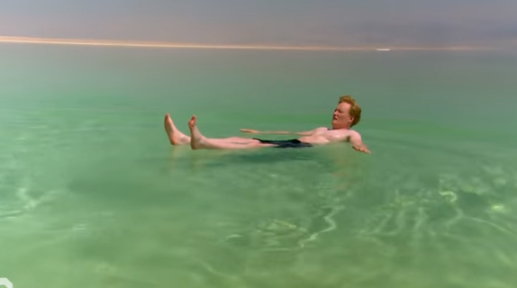 Conan at the Dead Sea