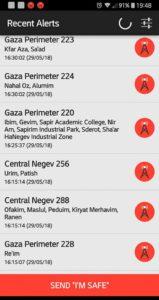 Color Red Alerts