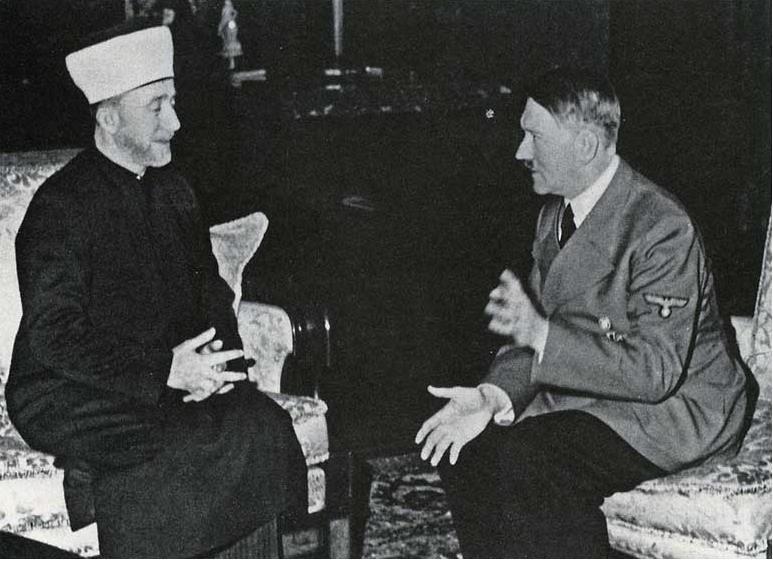 Haj Amin al-Husseini and HItler shared a similar ideology
