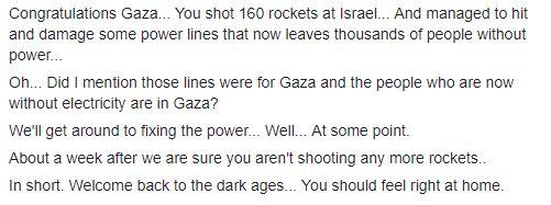 Congratulations Gaza